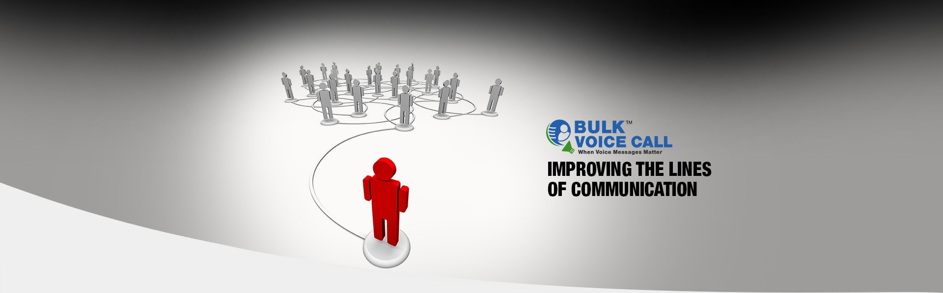 Bulk voice call banner